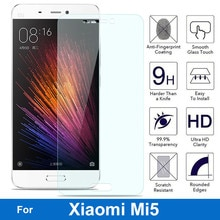Tempered Glass For Xiaomi Mi5/M5 Mobile Phone High Quality Screen Protector Film Glass Protective Ac