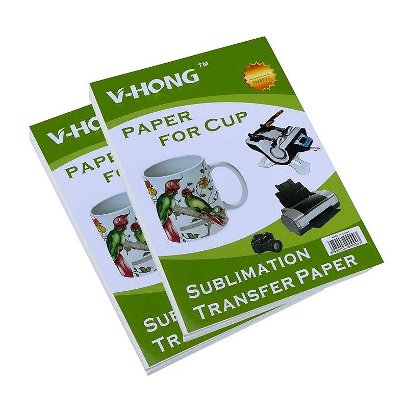 8,26x11,7 inch A4 20 листов для струйной печати бумага сублимации для кружка 10 листов A3 Теплообменной бумагой керамики головоломки Стекло сумка
