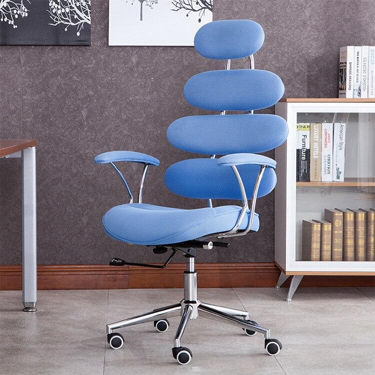 Новые модные простой современный творческий офисное кресло бытовой сетки для