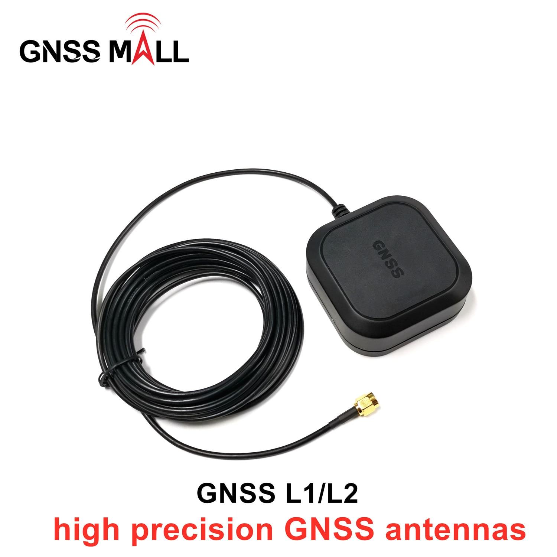 Nuevo GNSS L1, L2 frecuencia para ZED-F9P antena GNSS de alta precisión, GPS GALILEO GLONASS BEI DOU navegación GPS antena de un-608