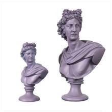 David Apollo Bust Art Sculpture Athena Venus Mary Goddess Statue Resin Art&Craft Home Decoration Accessories R2148
