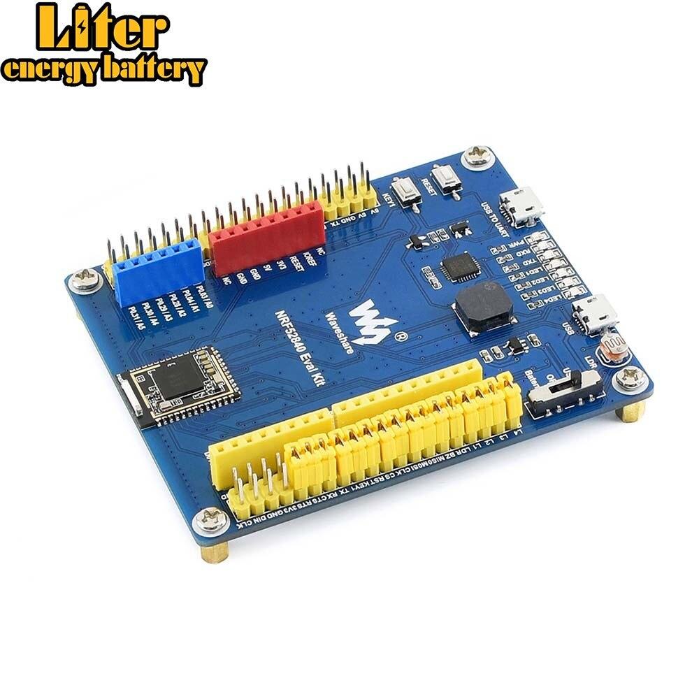 Kit de evaluación nRF52840 Bluetooth 5,0, con Arduino, conectividad Raspberry Pi y varios periféricos usados en común