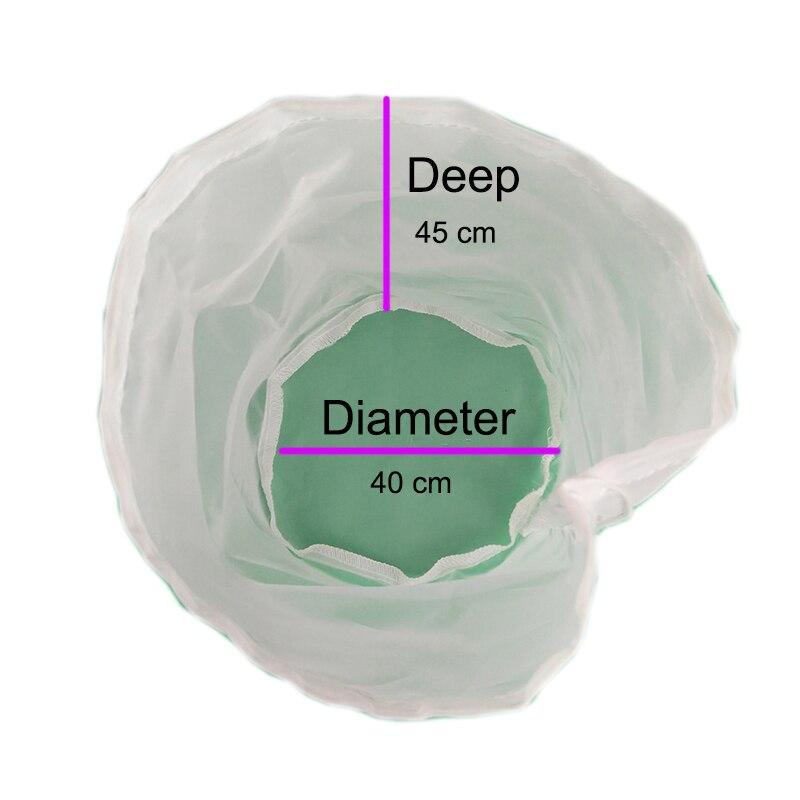 Bolsa de filtro de cerveza casera de 45x40 cm Ttpe A 5 galones, bolsa de filtro de puré de calidad alimentaria de malla fina, bolsa de filtro casera, cubo