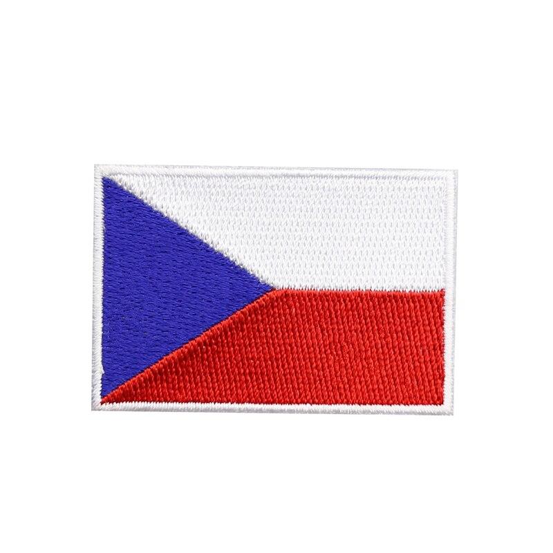 1 шт., высококачественные патчи с вышивкой в виде флага, Патчи с клеем для пальто и рюкзака «сделай сам»