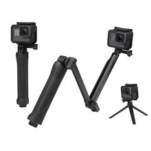 Universal Sports Camera Holder Waterproof 3 Way Monopod Grip Extension Arm Tripod Mount For Gopro hero Camera Accesories 51cm