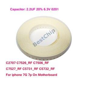 C2707 C7526_RF C7506_RF C7527_RF C5731_RF C5732_RF For iphone 7 7plus on Logicboard
