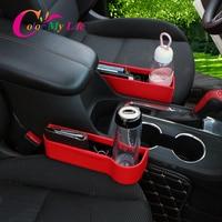 Universal Car Seat Seam Wedge Cup Box for Peugeot 107 206 207 301 307 308 3008 2008 408 508 4008 Fiat Punto 500 500L Cult Bravo