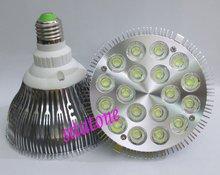 40 sztuk darmowa wysyłka sprzedaż AC85-265V PAR38 E27 18W reflektory LED 1980lm 18*1W lampa z żarówką led światła 2 lata gwarancji