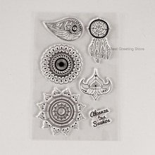 Timbres de la tribu pour scrapbooking   Timbres de décoration, timbres de mandala clairs