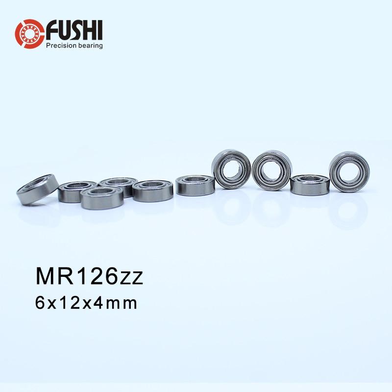 MR126ZZ ABEC-1 (500PCS) 6X12X4mm Miniature Ball Bearings  L-1260ZZ