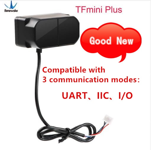 Beneawak-وحدة مستشعر LiDAR TFmini Plus ، مستشعر TOF قصير المدى أحادي النقطة ، IP65 متوافق مع كل من UART IIC I/O