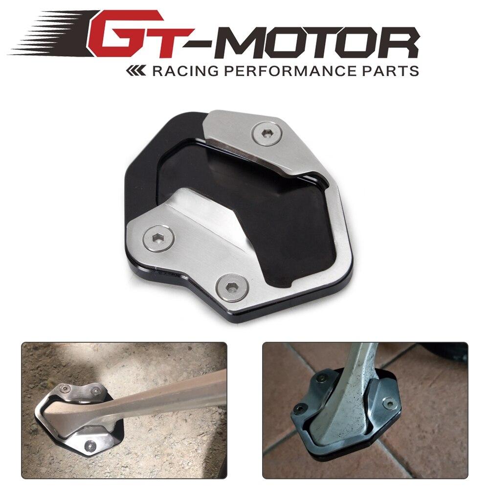 Motorrad Ständer Seitenständer Unterstützung Platte Verlängerung Pad Für Triumph Tiger 800 XC 2010-14 XCx XCa XR XRx XRt 2015 2016 2017