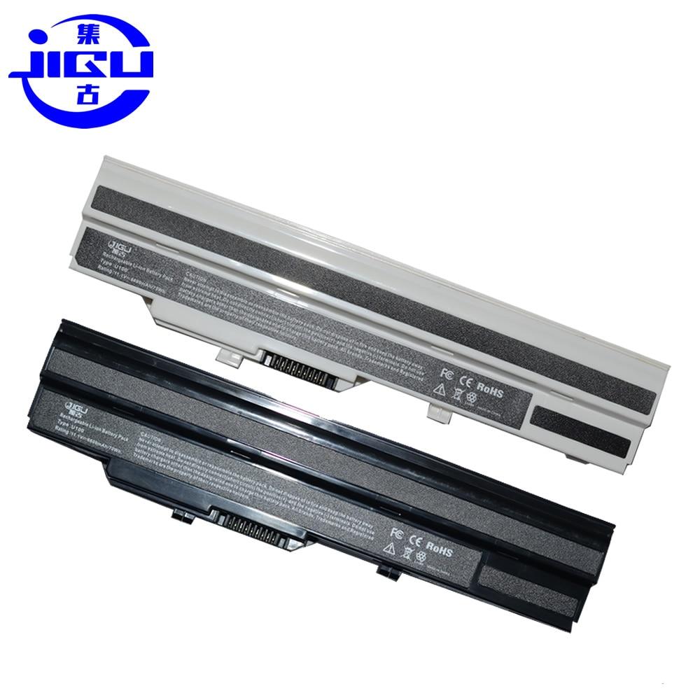 JIGU batería de 6600mAh para MSI Wind U90 U90X U100 U100X U110 U120 para LG X110 BTY-S11 BTY-S12 adviento de 4211