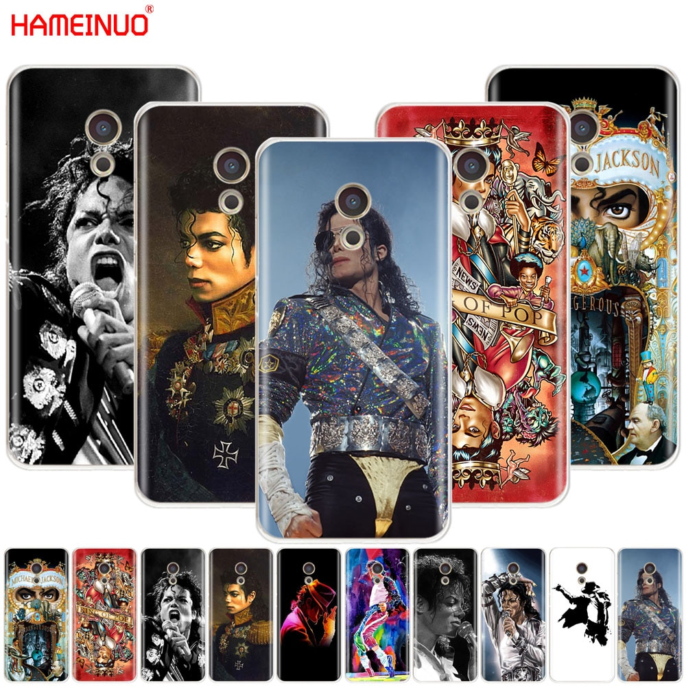 HAMEINUO Michael Jackson bailando rey cubierta de diseño para Meizu M6 M5 M5S M2 M3 M3S MX4 MX5 MX6 PRO 6 5 U10 U20 nota plus