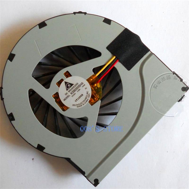 Новый охлаждающий вентилятор для процессора HP DV7-4000 4301SG DV6-3000 4000 DV6-3125EC DV6-3125EJ 3125ER KSB0505HA 610777-001 604787-001 622029-001