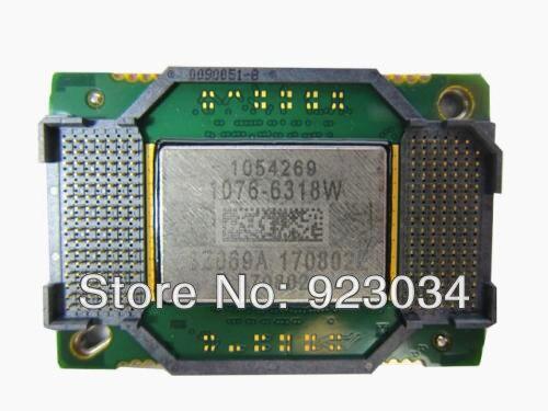 100% Original del proyector chip DMD 1076-6318w 1076 W-6319 w 1076-632AW 1076-631AW
