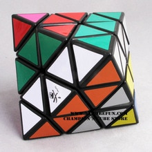 DaYan octaèdre Cube magique blanc et noir et Transparent apprentissage et éducatif Cubo magico jouets