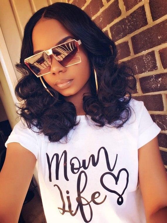 Sugarbaby Mom Life For Mom Cute  Momlife Mom Tee Short Sleeve Casual Tops High quality Mom Gift T shirt