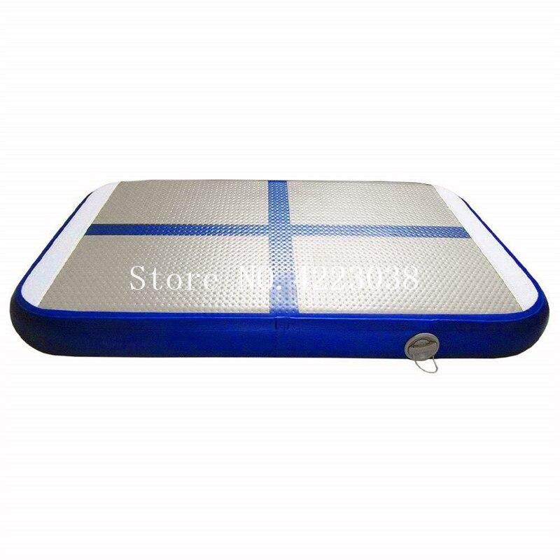 Free Shipping Mini Gym Mat Inflatable Gymnastics Tumble Track Air Block Air Board Mat