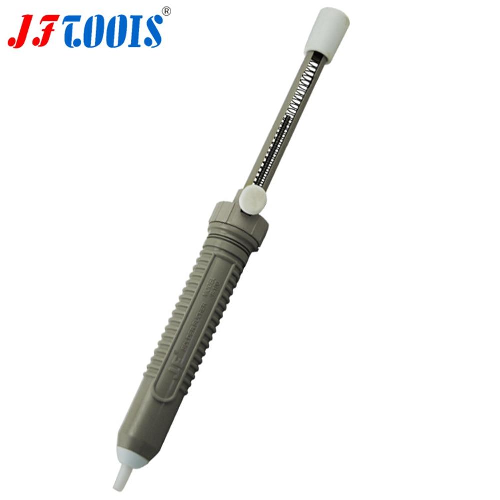 JF-100 Aluminium zinn suctioner manuelle doppel saug pistole anti-statische schweißen werkzeug stift stift abschnitt zinn Wartung werkzeuge