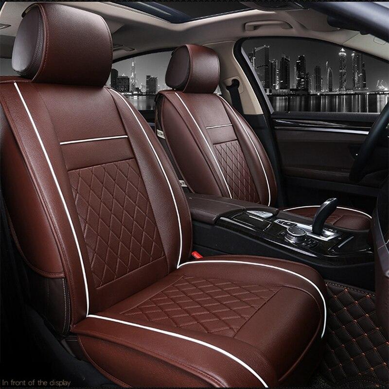 5 asientos cubierta de asiento de coche para Geely Emgrand EC7 X7 FE1 ZOTYE SR7 SR9 T300 T500 T600 T700 T800 Z200 Z200HB Z300 Z360 Z500 Z560 Z700