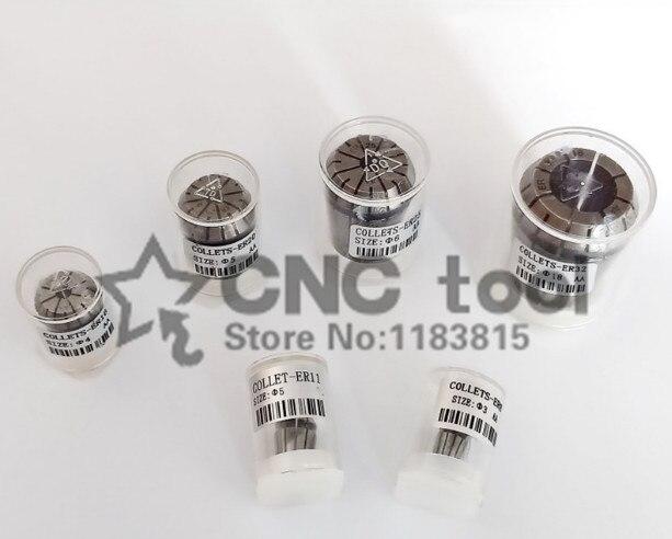 1 pinça da mola do er 16 do nível er16 do aa da elevada precisão dos pces 1mm-10mm apropriado para a precisão do suporte 0.008 do mandril do aro do er