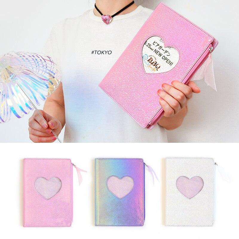 DIY Agendas 2020 Planner Diary Notebook Laser Weekly Monthly Organizer Note Pads Love Diamond Note Book Fichario Journal Notepad