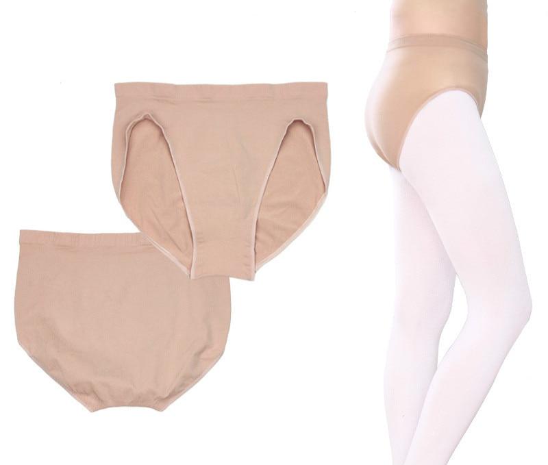 Adult Children Girls Ballet Dance Underwear Skin Seamless Safety Panties Kids Women Ballet Briefs