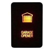 Interrupteur douvre-GARAGE Amber 12V 3A   Interrupteur de bouton-poussoir pour Toyota 2015 Hilux Prado 150 200 Rav4
