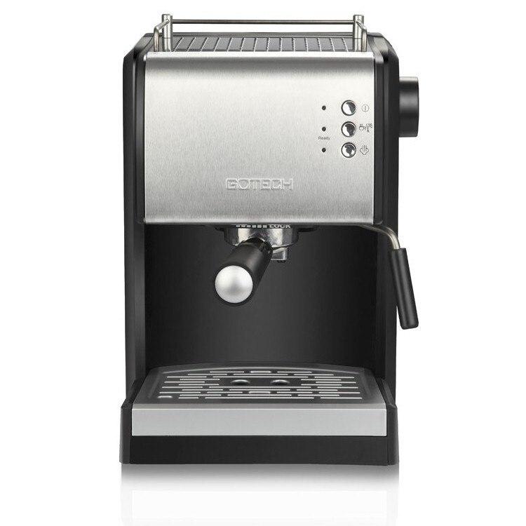 Cafetera italiana automática de espuma de leche a vapor, máquina de café...
