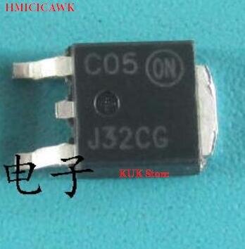 HMICICAWK Original 100% NOVO J32CG MJD32CG MJD32C J32C MJD32CT4 MJD32CT4G DPAK 50 PÇS/LOTE