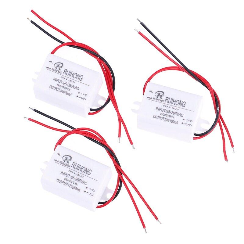 1PC AC-DC módulo de fuente de alimentación AC 110V 220V 230V a DC 5V 12V 24V Mini convertidor Buck