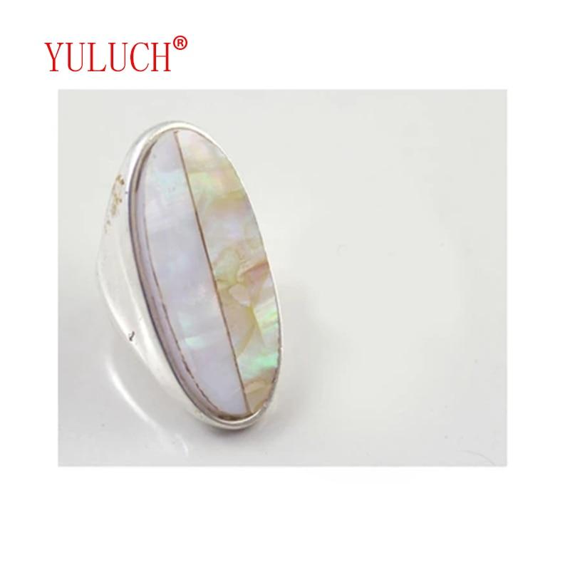 Женские кольца YULUCH, яркие кольца из сплава и сплава, элегантные модные украшения для вечеринки, подарка на день рождения, 2018
