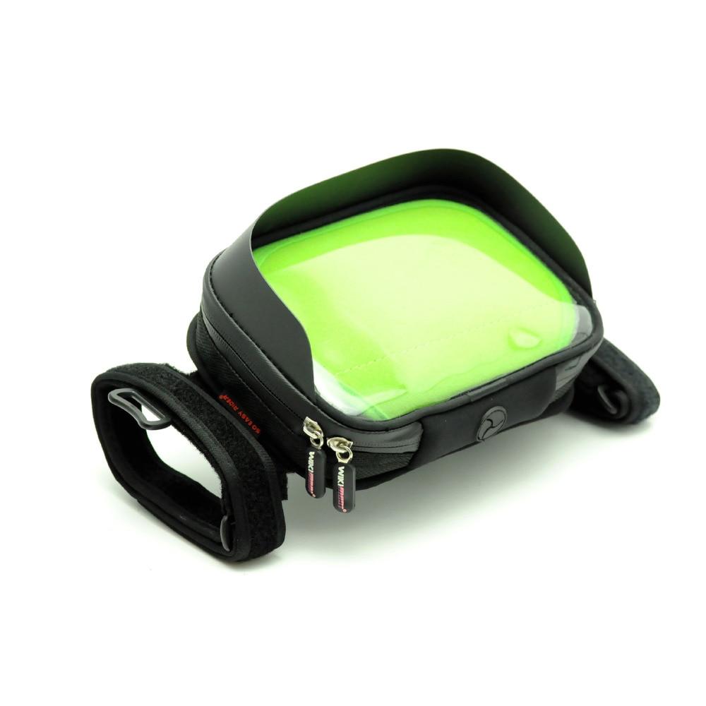 Soporte para GPS de 6 pulgadas, TOMTOM Magellan GARMIN, tableta GPS para atar en la motocicleta, resistente al agua con tapa solar
