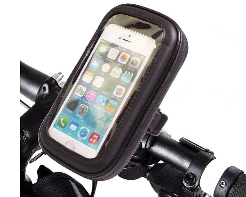 Soporte de teléfono móvil para bicicleta impermeable con pantalla táctil para Sony Xperia XA1 Plus/XZ1/XZ1 Compact, ZTE nubia Z17 lite