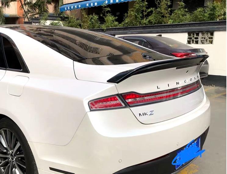 Alerón trasero de coche para Lincoln MKZ, alerón trasero de 4 puertas, alerón de labio, imprimación de plástico ABS y color de pintura para hornear 2015-2019