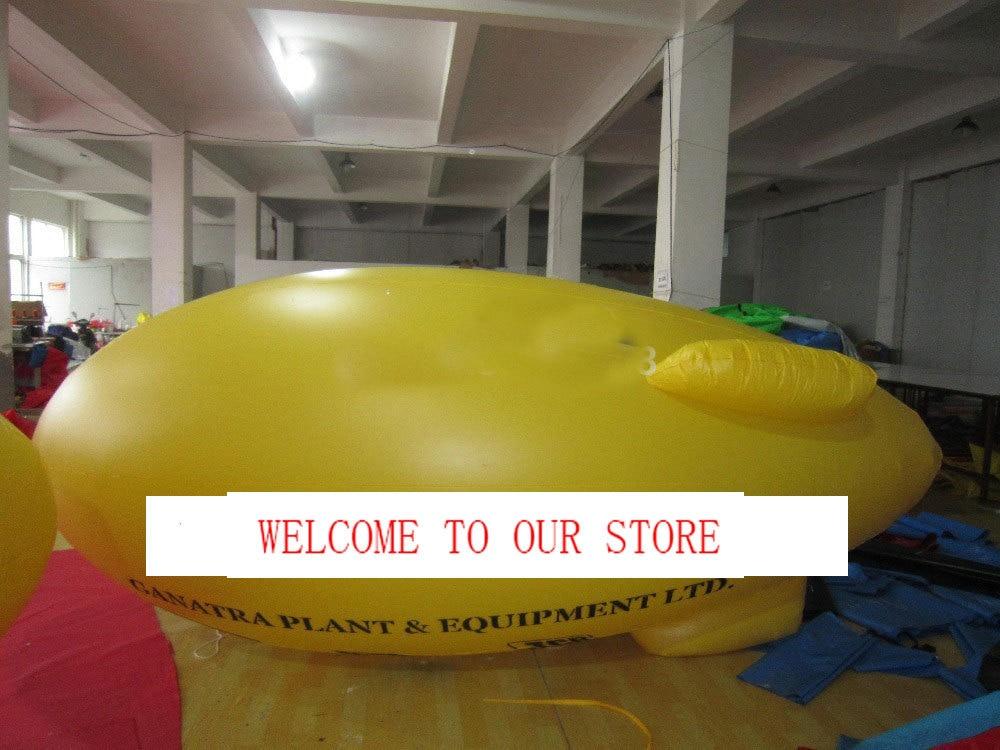 0,18exposición de Material de PVC globo publicitario inflable globo inflable de helio