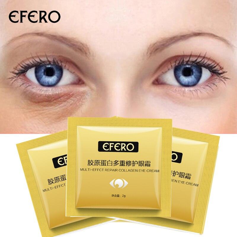 10 Pack Anti Falten Auge Creme Säure Essenz Bleaching Augen Dunkle Augenringe Entfernung Haut Pflege Augen Creme