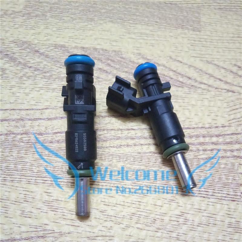 Оригинальный инжектор топлива, Форсунка для Chevrolet Cruze 1,6 AVEO OPEL ORLANDO ASTRA INSIGNIA ZAFIRA 55562599, 4 шт./лот