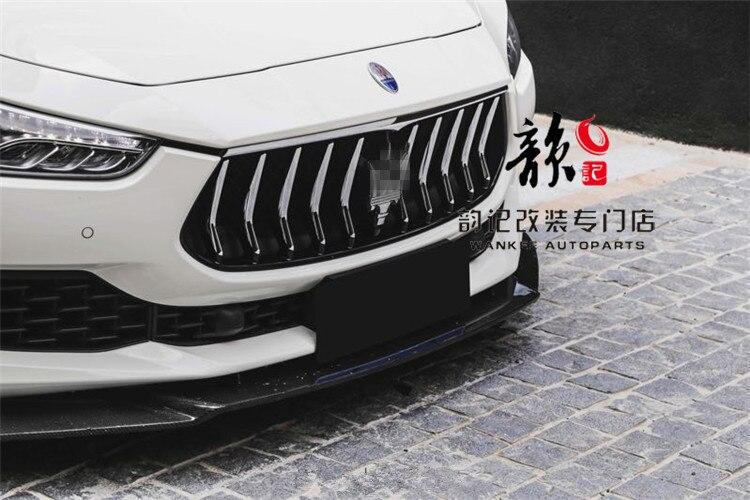 Ajuste para Maserati GHIBLI, Alerón trasero de fibra de carbono
