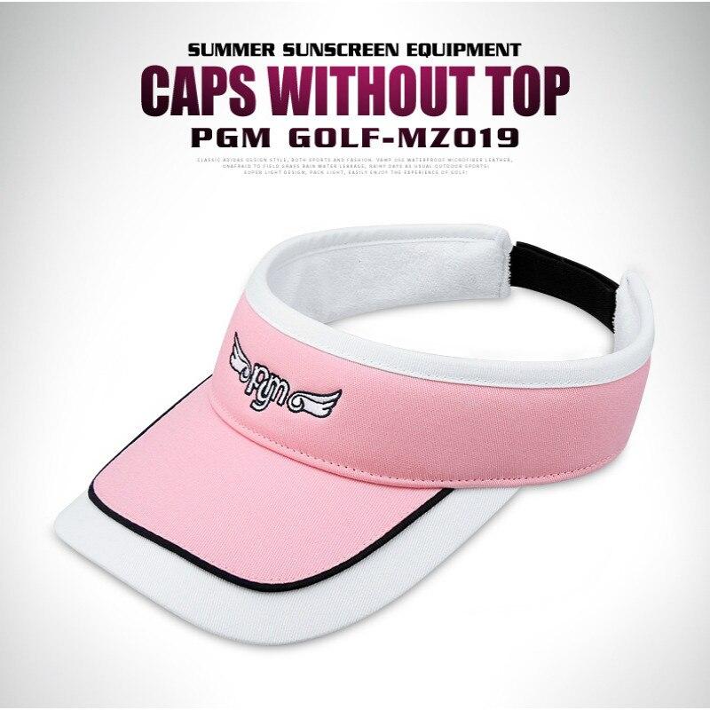 PGM гольф кепка леди без головы вентиляционная Кепка Спортивная Кепка летняя вентиляция солнцезащитный крем MZ019