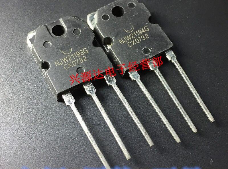 10 pares MJW21193 MJW21194 MJW21193G MJW21194G-247 15A 250 V 200 W