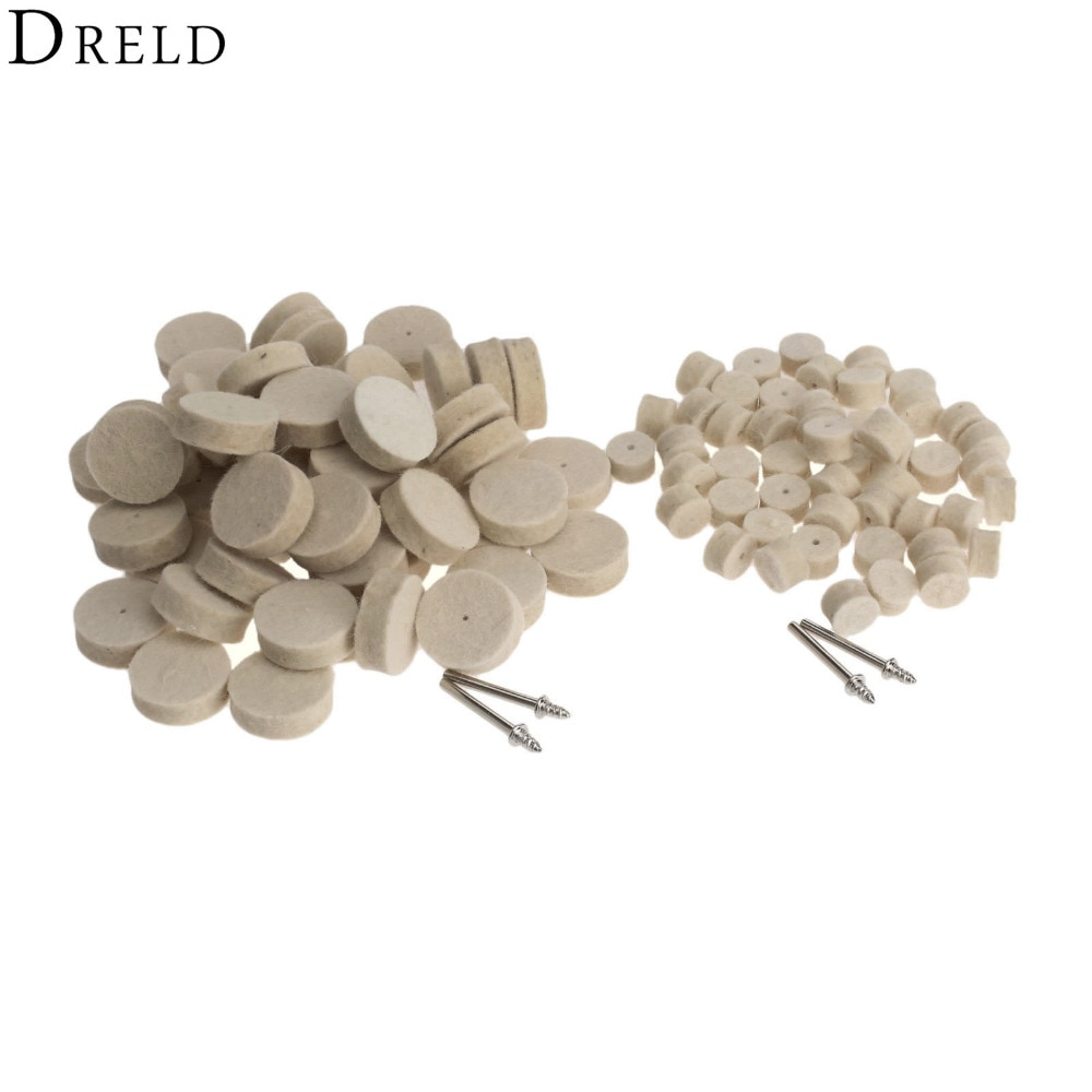 104 pces dremel acessórios conjunto roda abrasiva polimento de rebarbas para superfície de metal rodas de lã para ferramentas giratórias 3.2mm shanks