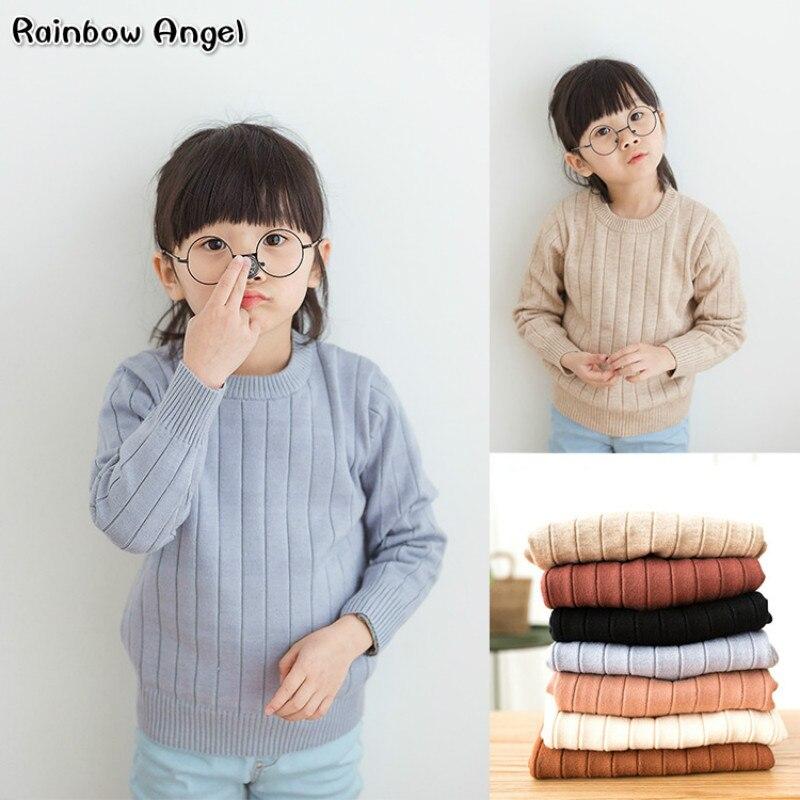 Nuevas niñas de invierno suéter niños y niñas suéteres niños ropa camisa de las niñas, los niños suéteres Tops abrigo