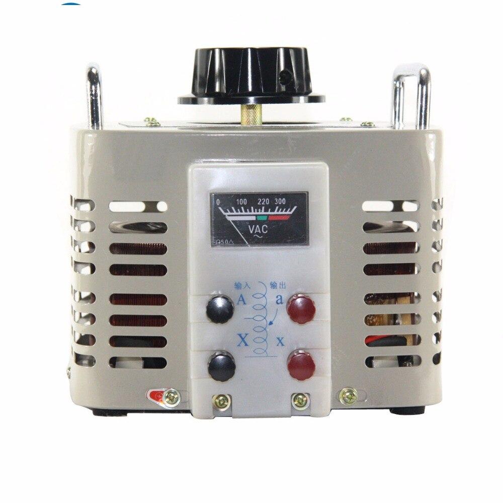5KVA Voltage regulator variac domestica monofase 0-250 v di tensione convertitore di potenza trasformatore di tensione 220 V