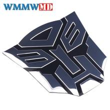 3D voiture autocollants Cool Autobots Logo voiture style métal transformateurs Badge emblème queue décalcomanie moto voiture accessoires Automobile