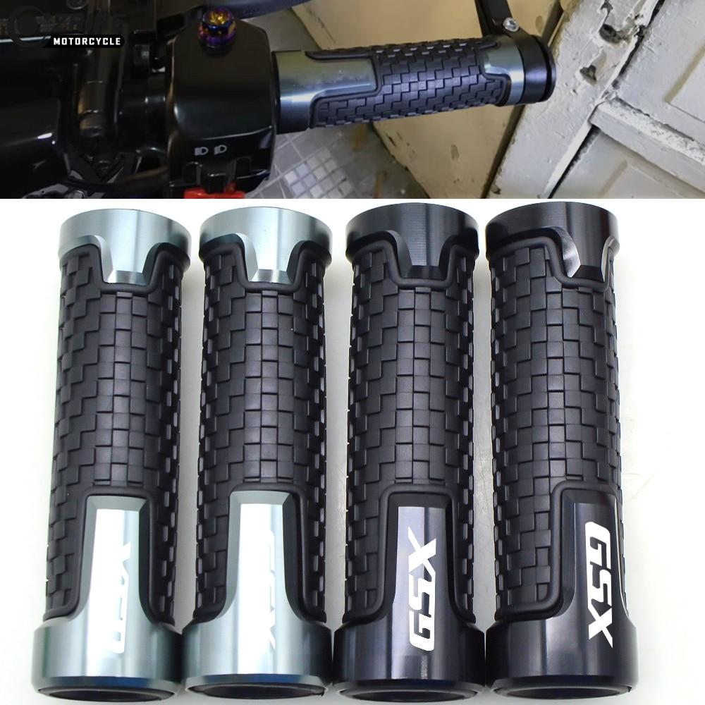 Universal Handle Bar Grips 7/8 22mm Handlebars Grips For SUZUKI GSX1400 GSX 1400 2010-2016 GSX650F GSX 650F GSX 650 F 2008-2015