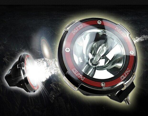 12V/35W 4 INCH HID foco de luz de carretera HID/rayo de luz para SUV Jeep Truck ATV Xenón HID luces de niebla luz de trabajo oculta