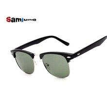 High Quality Sunglasses Men Women Brand Designer Glasses Mirror Sun  oculos vintage eyewear Half Fra