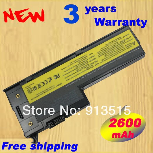 Batería de portátil al por mayor para IBM para LENOVO X60 X61 para THINKPAD X60S X61S Series